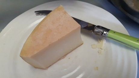 This cheese is amazing, but I'm a horrible photographer. You'll have to take my word for it.